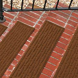 Weather Guard™ Mesh Stair Treads in Dark Brown (Set of 2)