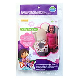 Neat Solutions® Dora the Explorer 10-Pack Potty Topper®