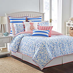 Southern Tide® Coastal Ikat Reversible Comforter Set in Cool Blue