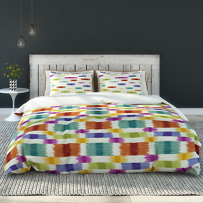 Alternate image 1 for Colorfly™Barnaby King Duvet Cover Set in Carnival