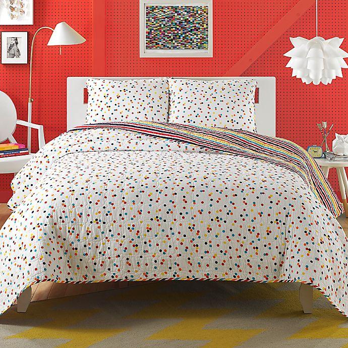Teen Vogue® Ditsy Dot Quilt Set | Bed Bath & Beyond
