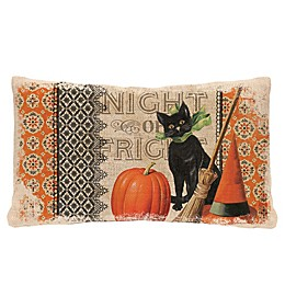 Heritage Lace® Victorian Halloween Oblong Throw Pillow