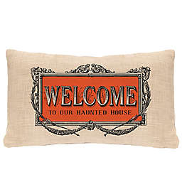 Heritage Lace® Halloween Frames Oblong Throw Pillow