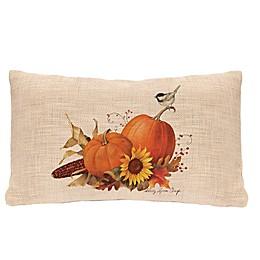 Heritage Lace® Harvest Pumpkin Oblong Throw Pillow