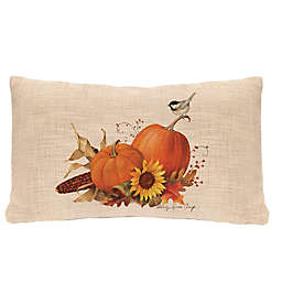 Heritage Lace® Harvest Pumpkin Oblong Throw Pillow