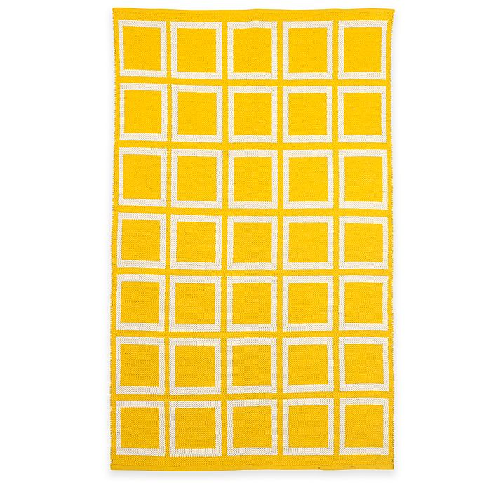 Alternate image 1 for Fab Habitat Sunny Rug in Mimosa & Bright White