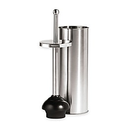 Oggi™ 2-Piece Toilet Plunger and Holder Set