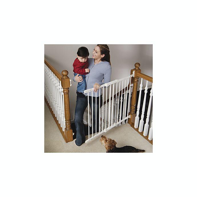 Kidco White Angle Mount Safeway Safety Gate Buybuy Baby