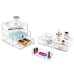iDesign® Luci Bath Storage Organizers