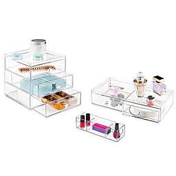 iDesign® Luci Bath Storage Organizers