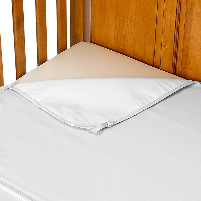 Alternate image 1 for Summer Infant® Ultimate Crib Sheet in White