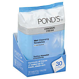 Pond's® 30-Count Original Fresh Wet Cleansing Towelettes