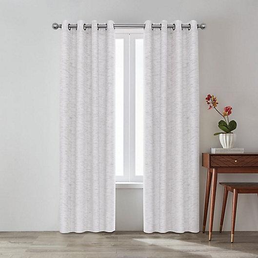 Alternate image 1 for O&O by Olivia & Oliver™ Zander Grommet Room Darkening Window Curtain Panel