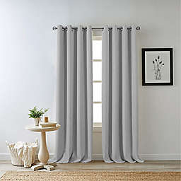 Bee & Willow™ Home Hadley 54-Inch 100% Blackout Curtain Panel in Light Grey (Single)
