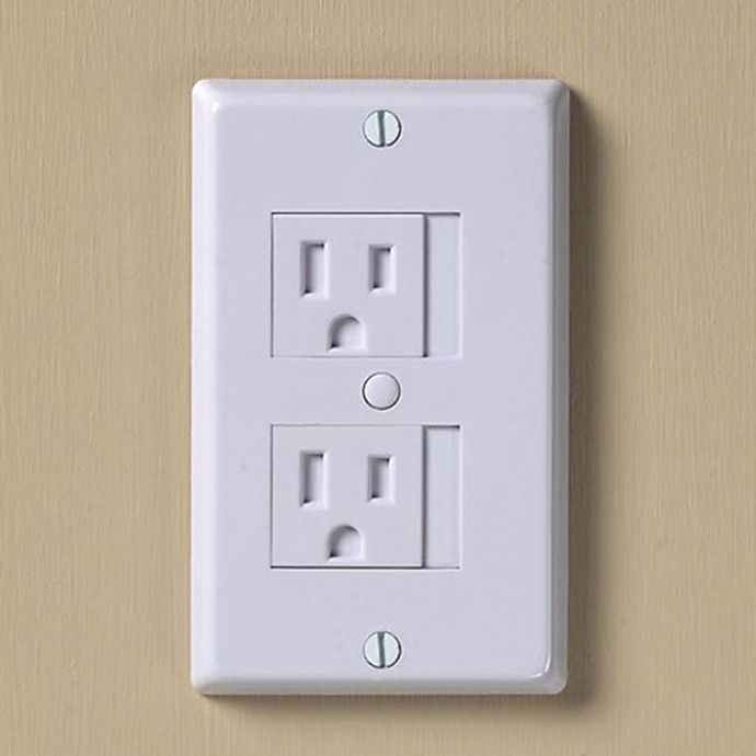 Alternate image 1 for KidCo® Universal White Outlet Cover (Pack of 3)