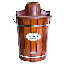 Nostalgia™ 6-Quart Wooden Bucket Ice Cream Maker