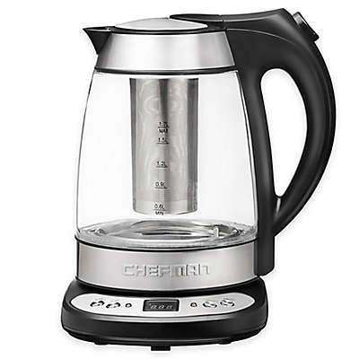 Chefman Precision Cordless Electric Glass Kettle