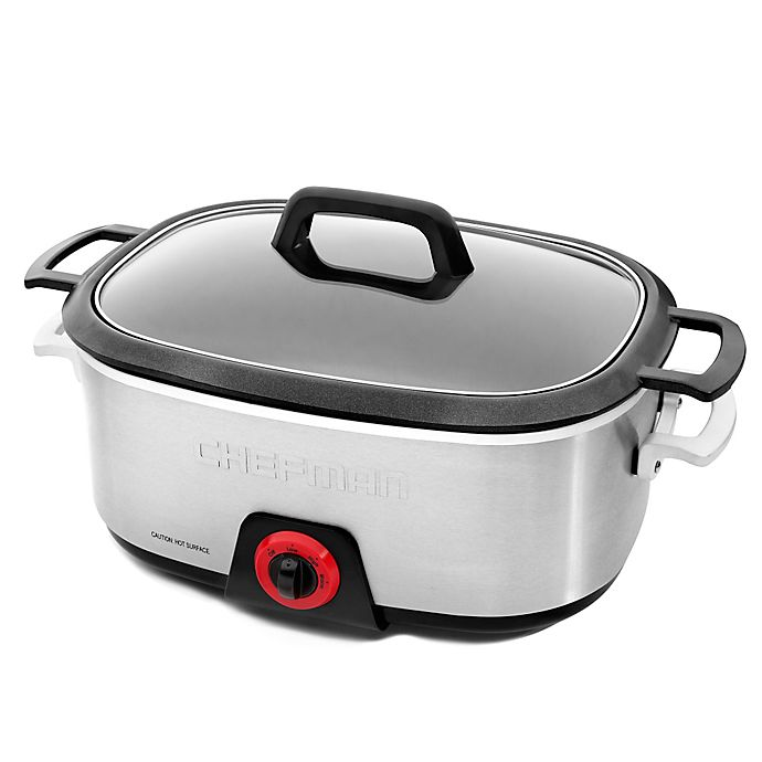 Alternate image 1 for Chefman Die Cast 6 qt. Multicooker