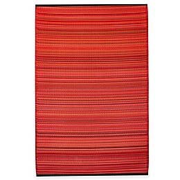 Fab Habitat Cancun Striped Indoor/Outdoor Area Rug