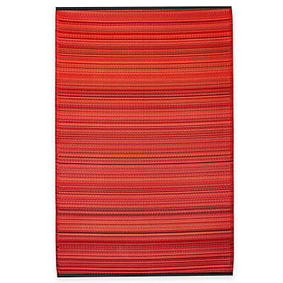 Fab Habitat Cancun Striped Rug