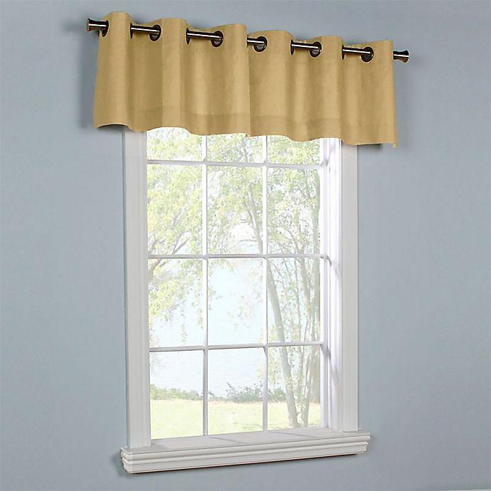 Alternate image 1 for Weathermate Room Darkening Grommet Top Window Curtain Panels (Set of 2)