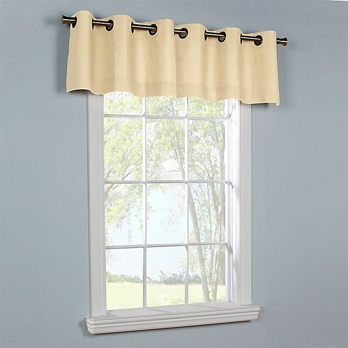 Alternate image 1 for Thermalogic® Weathermate Grommet Top Window Valance