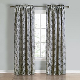 Commonwealth Home Fashions Calder 2-Pack Rod Pocket Window Curtain Panels