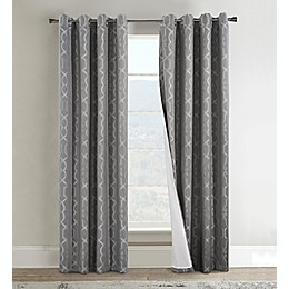 Commonwealth Home Fashions Roxboro Grommet Window Curtain Panel