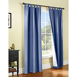 Thermalogic® Weathermate 2-Pack 72-Inch Tab Top Window Curtain Panels in Blue