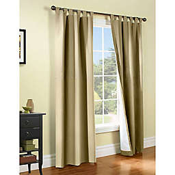 Thermalogic® Weathermate 2-Pack 84-Inch Tab Top Window Curtain Panels in Khaki