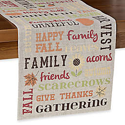 Bountiful Words Table Runner