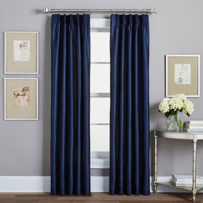Spellbound Pinch Pleat Rod Pocket Lined Window Curtain