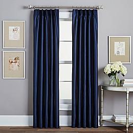 Spellbound Pinch-Pleat Rod Pocket Lined Window Curtain Panel