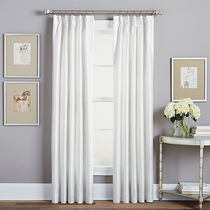 Spellbound Pinch-Pleat Rod Pocket Lined Window Curtain