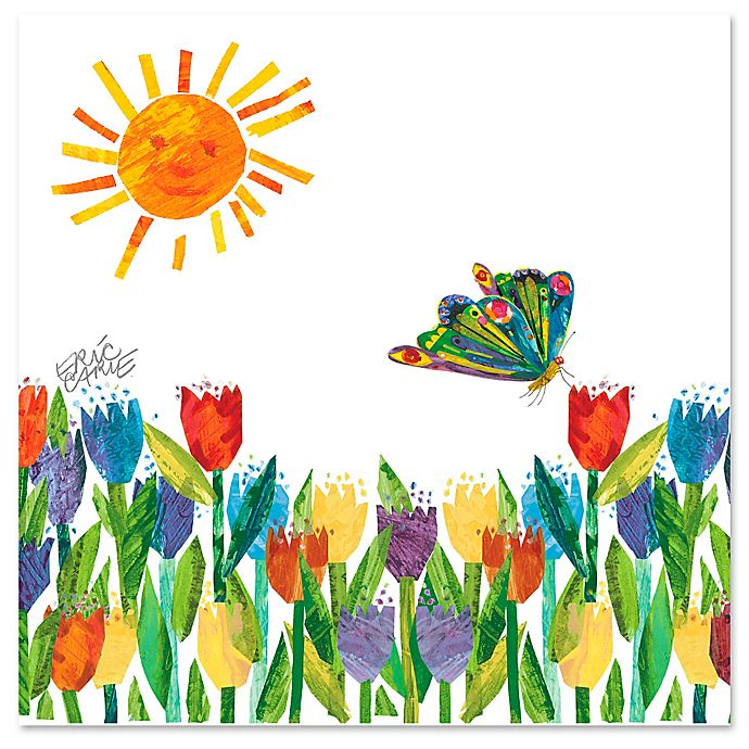Eric Carle Butterfly in the Sun Wall Art | buybuy BABY