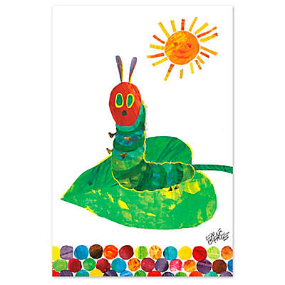 Eric Carle Caterpillar on a Leaf Wall Art