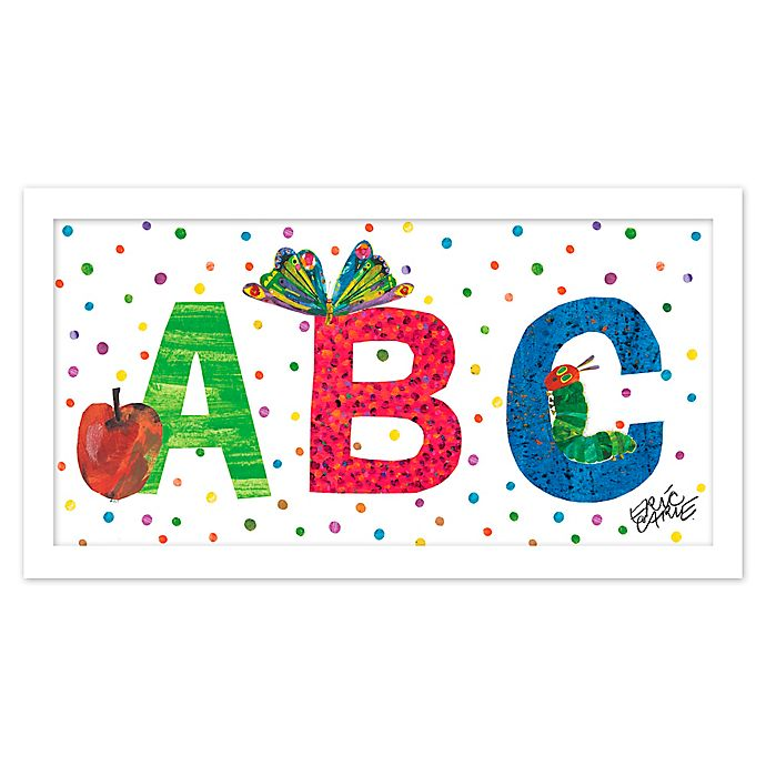 Alternate image 1 for Eric Carle ABC Polka Dots Wall Art