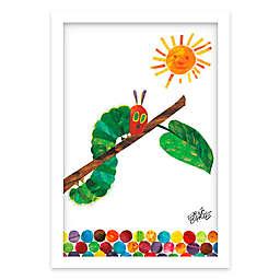 Eric Carle Caterpillar Crawl Shadow Box Wall Art