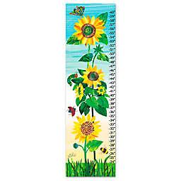 Eric Carle Sunflower Growth Chart Canvas Wall Art