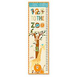 Eric Carle Zoo Growth Chart Canvas Wall Art