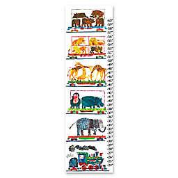 Eric Carle Animals Growth Chart Canvas Wall Art