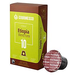 Gourmesso Etiopia Blend Forte Espresso Capsules 50-Count