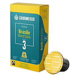 Gourmesso Brasile Blend Dolce Espresso Capsules 50-Count