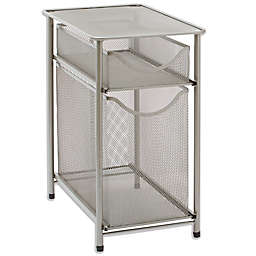 ORG 2-Tier Metal Mesh Cabinet Drawer in Nickel
