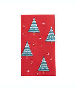 Toallas desechables de árbol de Navidad, 32 piezas
