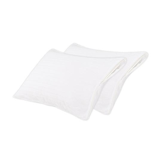 Alternate image 1 for Nestwell™ Cotton Comfort Standard/Queen Pillow Protectors (Set of 2)