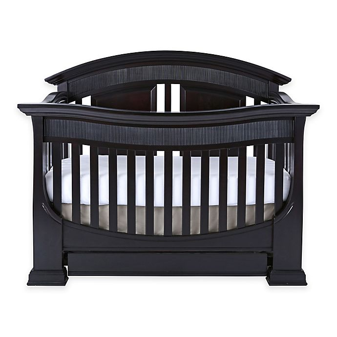 Alternate image 1 for Baby Appleseed® Chelmsford 4-in-1 Convertible Crib in Espresso