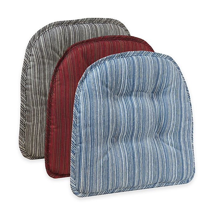 Alternate image 1 for Klear Vu Tufted Sophia Gripper® Chair Pad