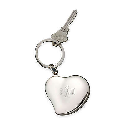 Heart Locket Keychain