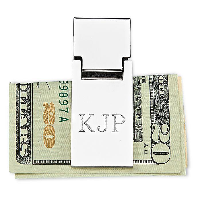 Alternate image 1 for Spring Loaded Money Clip